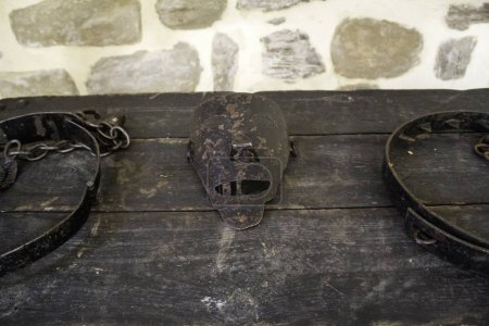Photo for Old torture tools, torture detail of the inquisition - Royalty Free Image