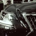 Close up Lexus new car at motor show, Automobile S...