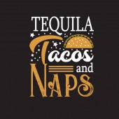 Taco Quote and saying good for print design