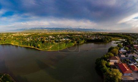 Foto de Almaty city view, Kazajstán, Asia Central - Imagen libre de derechos