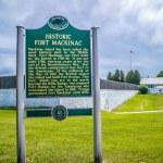 Mackinac Island, MI, USA - June 23, 2018: The Hist...