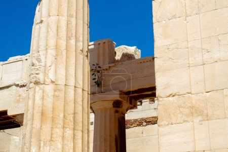 Photo for Ruins of the ancient Greek Acropolis - Royalty Free Image