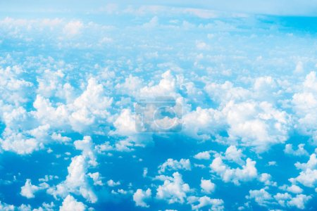 Photo for Beautiful blue clouds and sky - Royalty Free Image