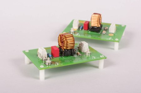 Photo for Power supply filter for reducing EMC problems - Royalty Free Image