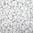 Marble white pebbles. Background texture....