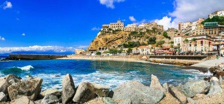 Italian summer holidays -Pizzo Calabro - beautiful coastal town in Calabria.