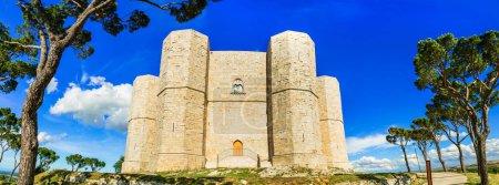Unique castle  Castel del Monte - UNESCO World Heritage site, Puglia,Italy.