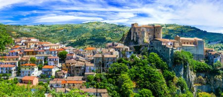 Oriolo Calabro - one of the most beautiful medieval villages of Italy, Calabria.