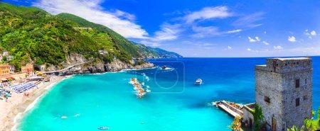Coastal Italy series- national park Cinque terre and picturesque Monterosso al mare,Liguria,Italy.