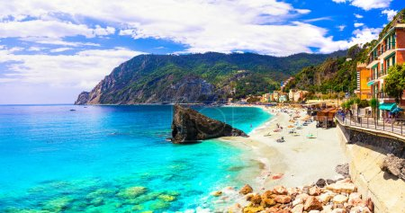 Coastal Italy series- national park Cinque terre and picturesque Monterosso al mare,Liguria.