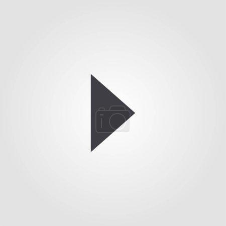 Photo pour Jouez icône créative. Illustration d'élément simple. Jouer conception de symbole de concept de collection ui. Peut être utilisé pour le web, le mobile et l'impression. conception web, applications, logiciels, impression . - image libre de droit