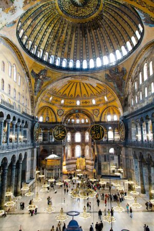 It was used as a church for 916 years but, following the conquest of Istanbul by Fatih Sultan Mehmed, the Hagia Sophia was converted into mosque. Afterwards, it was used as a mosque for 482 years.Hagia Sophia was converted into a museum in 1935.