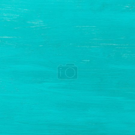 Photo for Blue background. Wooden blue horizontal boards background. Empty for design. - Royalty Free Image