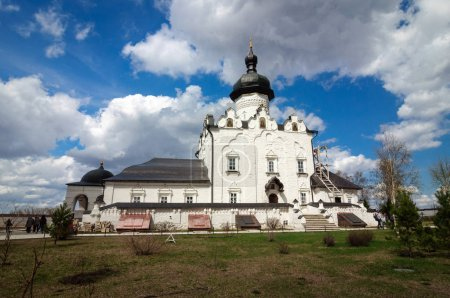 White stone Cathedral of the assumption, Sviyazhsk.