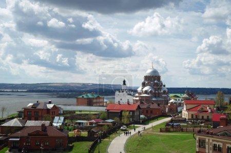 Island town Sviyazhsk monument of Russian antiquity, Tatarstan republic.