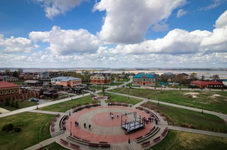 The city of Sviyazhsk was founded in 1551 by Ivan the Terrible, Russia.