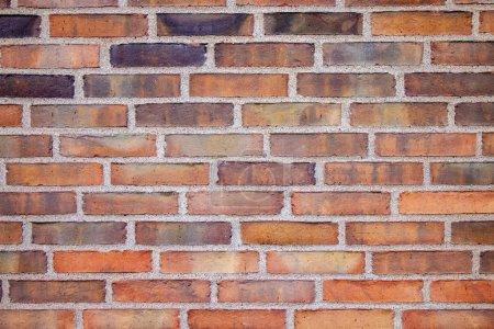 plein cadre de fond de mur de brique vide