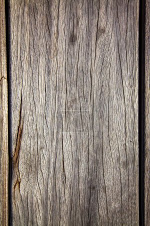 full frame of empty wooden background