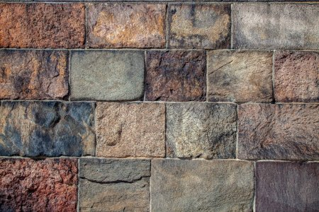 Photo for Full frame of empty brick wall background - Royalty Free Image