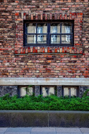 Urban scene with building and street in Copenhagen, denmark