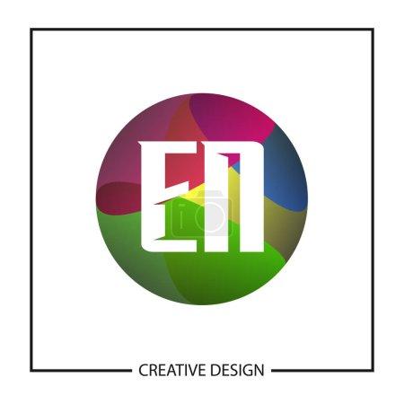 Initial Letter EN Logo Template Design...