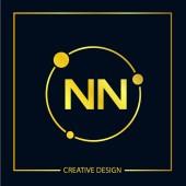 Initial Letter NN Logo Template Design