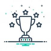 Mix colour icon for Award