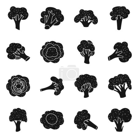 Illustration for Vector design of eating and diet logo. Collection of eating and farm stock vector illustration. - Royalty Free Image