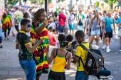 London, UK ,August 25, 2019. Notting Hill Carnival family day