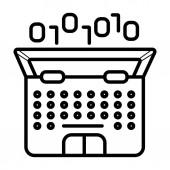 Coding icon vector  illustration