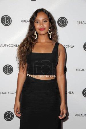 Photo for Alisha Boe at the Beautycon Festival LA 2018, Los Angeles Convention Center, Los Angeles, CA 07-14-18 - Royalty Free Image