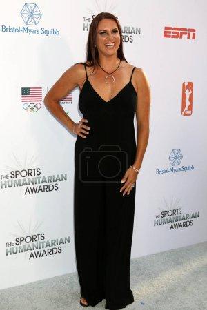 Stephanie McMahon at the 4th Annual Sports Humanitarian Awards, The Novo, Los Angeles, CA 07-17-18
