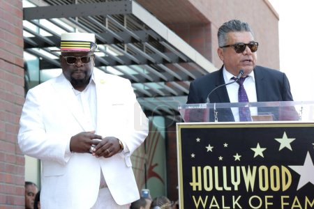 Photo for Cedric the Entertainer, George Lopez at the Cedric the Entertainer Star on the Hollywood Walk of Fame, Hollywood, CA 07-19-18 - Royalty Free Image