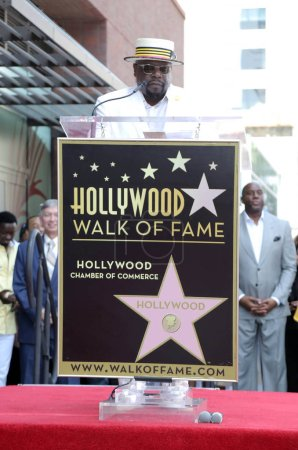 Photo for Cedric the Entertainer at the Cedric the Entertainer Star on the Hollywood Walk of Fame, Hollywood, CA 07-19-18 - Royalty Free Image