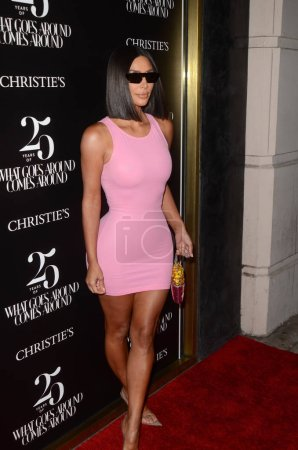 """Kim Kardashian at the """"What Goes Around Comes Around"""" 25th Anniversary Auction Preview, What Goes Around Comes Around Boutique, Beverly Hills, CA 08-21-18"""