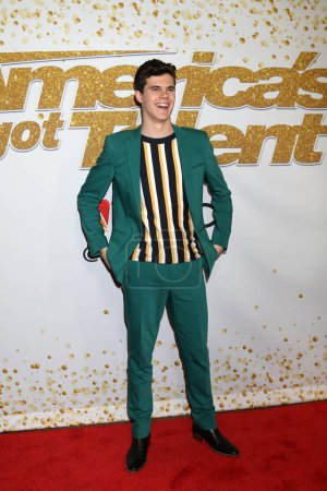 """Joseph O Brien at the """"America's Got Talent"""" Live Show Red Carpet, Dolby Theater, Hollywood, CA 08-28-18"""