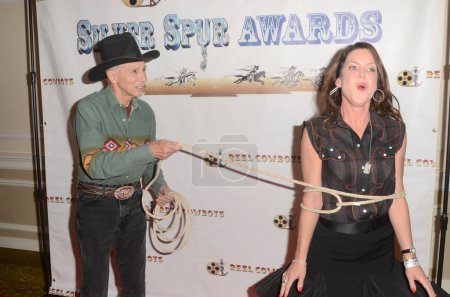 Photo for Johnny Crawford, Kira Reed Lorsch at the 21st Annual Silver Spur Awards, Sportsmen's Lodge, Studio City, CA 09-21-18 - Royalty Free Image