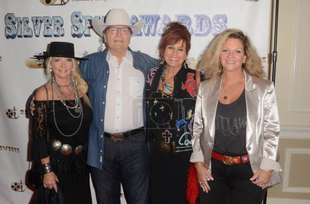 Photo for Patrick Wayne, Sisters at the 21st Annual Silver Spur Awards, Sportsmen's Lodge, Studio City, CA 09-21-18 - Royalty Free Image