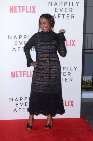 """Photo for Tracey Bing at the """"Nappily Ever After"""" Special Screening, Harmony Gold Theater, Los Angeles, CA 09-20-18 - Royalty Free Image"""