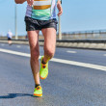 Running man. Athletic man jogging in sportswear on...
