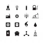 Energy icons Vector set