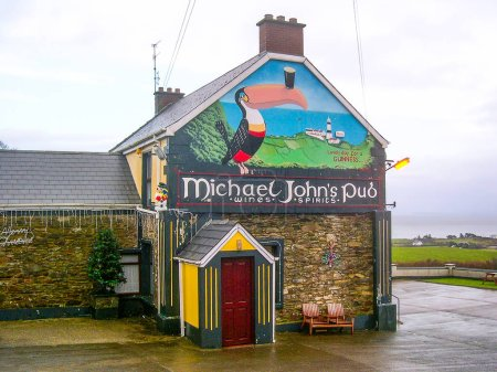 IRELAND CO. DONEGAL, DECEMBER 30, 2005 -  Michael John's Pub