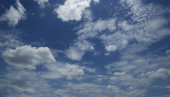 """Постер, картина, фотообои """"Голубое небо и облака небо"""""""