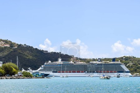 Saint Thomas, US Virgin Islands - April 01 2014: C...