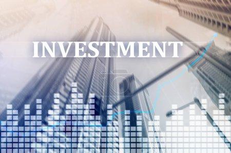 Photo pour Concept de marché financier d'investissement, Roi,. - image libre de droit