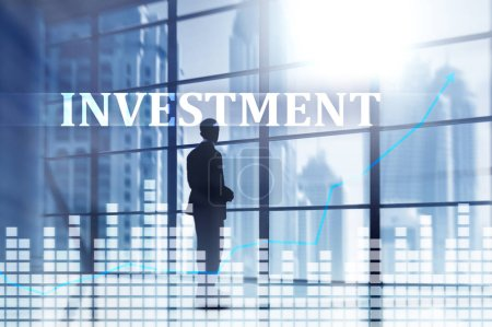 Photo for Investment, ROI financial market concept - Royalty Free Image