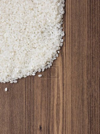Photo for Asian food white rice - Royalty Free Image