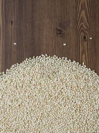 Photo for Organic Grain Brown Rice in Korea - Royalty Free Image