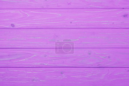 top view of pink wooden planks surface for background