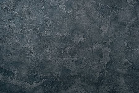 Photo for Top view of grungy dark concrete wall for background - Royalty Free Image